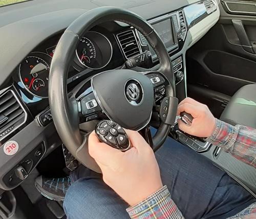 Behinderten-Cockpit