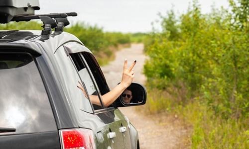 Urlaub mit dem Auto und dem Führerschein